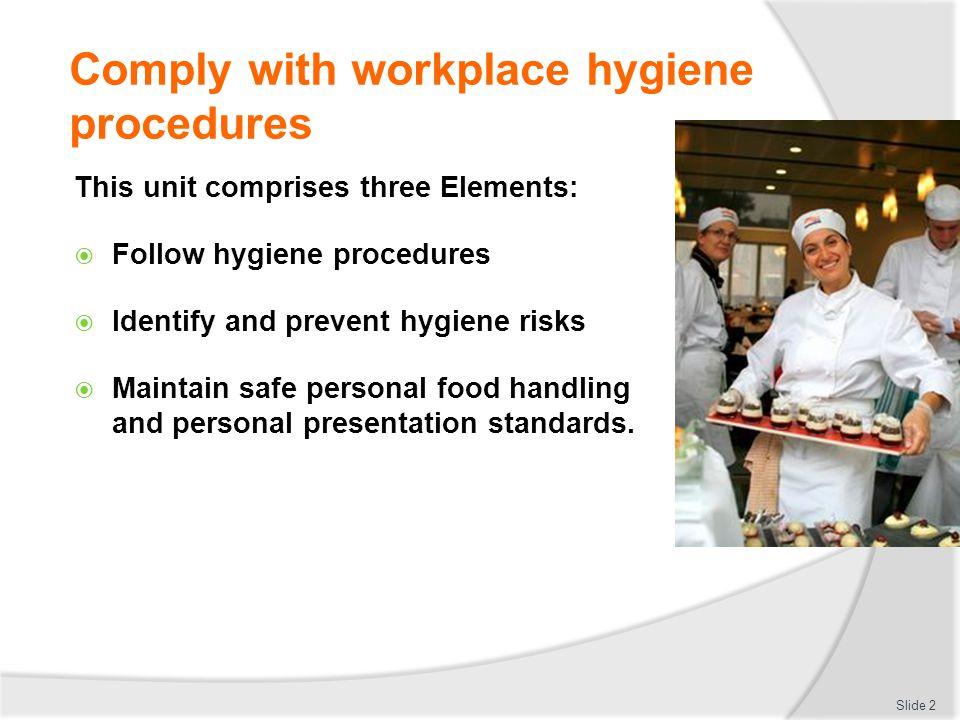 Employsure workplace presentation   workplace hygiene.