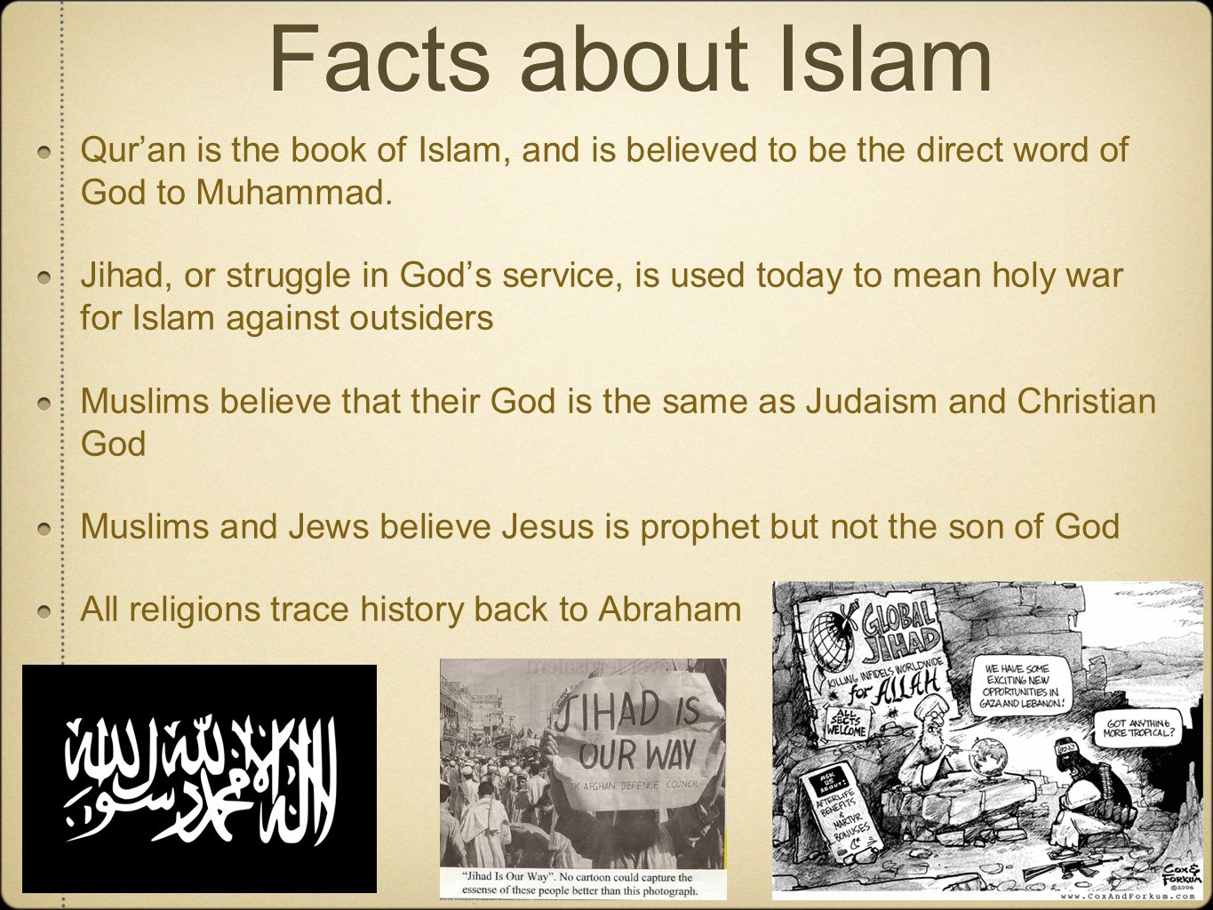 50 facts about Muslims