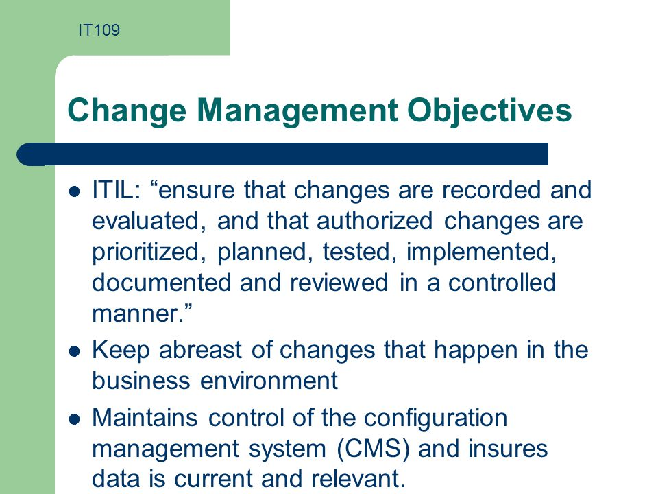 Itil Process Management Ppt Download