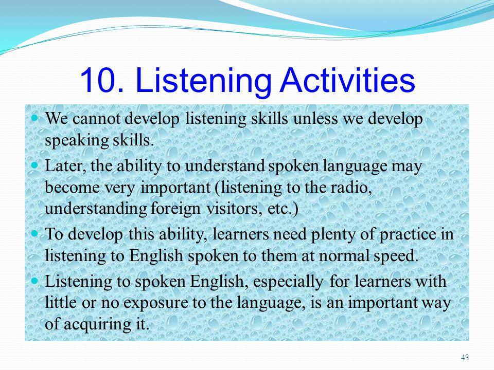 By billupsforcongress Listening Exercises For Spoken English
