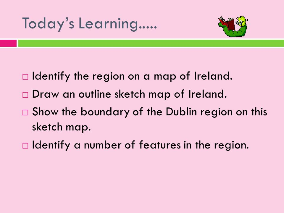 Sketch Map Of Ireland.The Dublin Region Core Irish Region Ppt Download