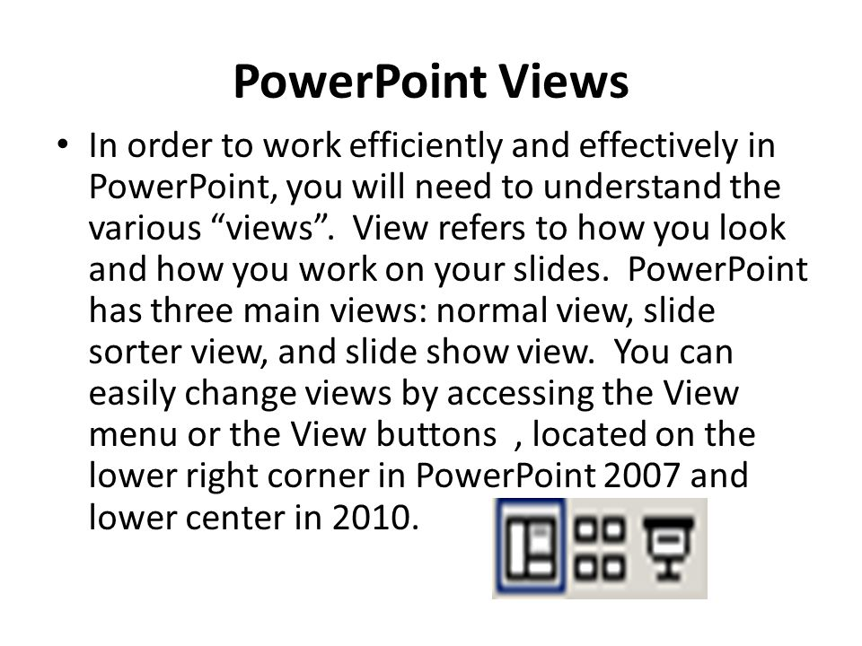 PowerPoint Views