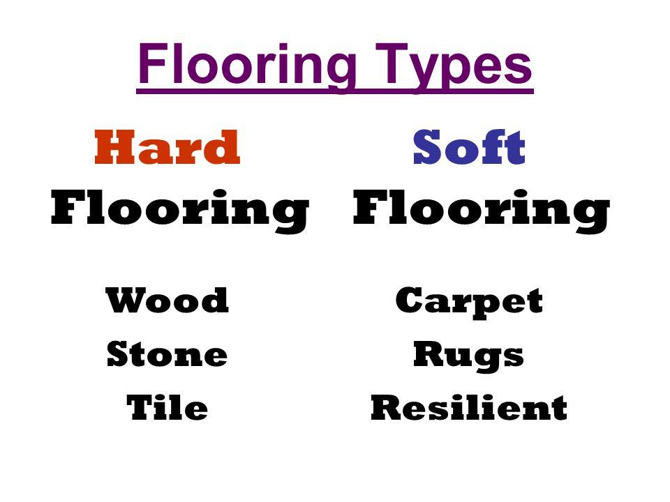 2 Flooring Types Hard Soft