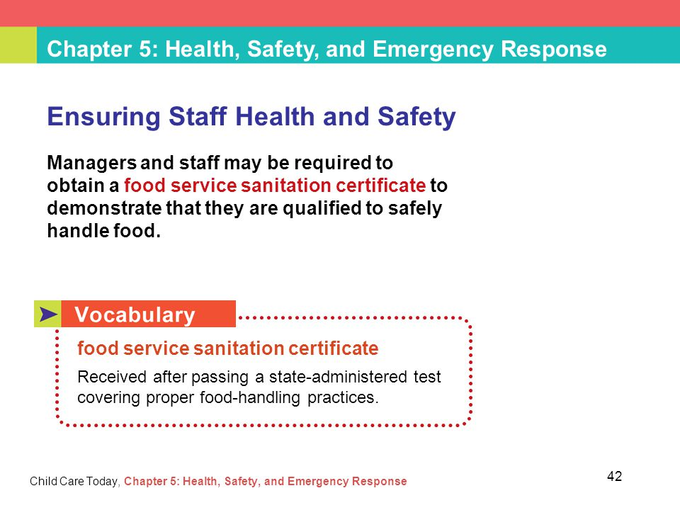 Chapter 5 Health Safety And Emergency Response Ppt Download
