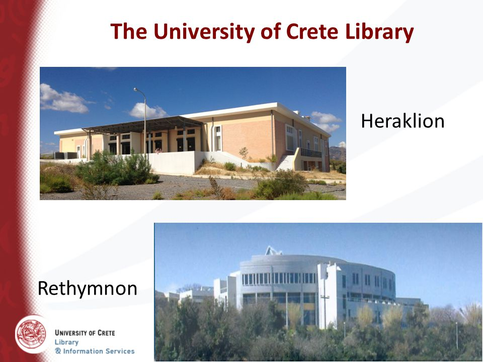 The University of Crete Library