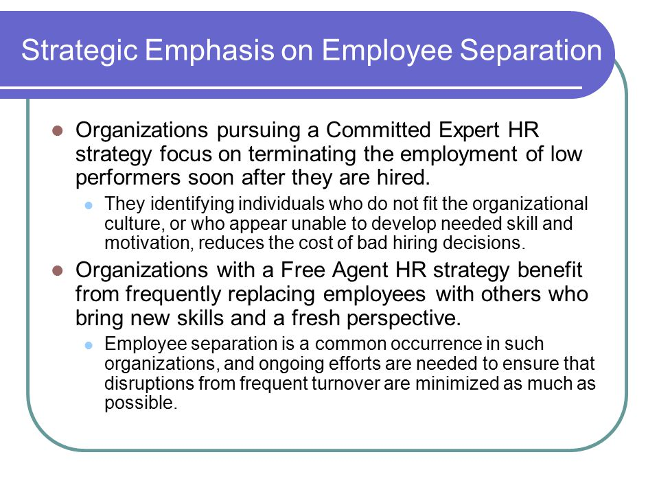 Managing Employee Retention and Separation - ppt video
