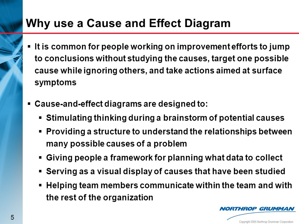 Cause And Effect Diagram Ppt Video Online Download