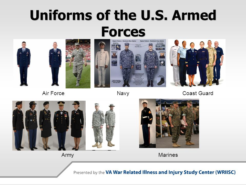 Navy force uniforms Army marines air