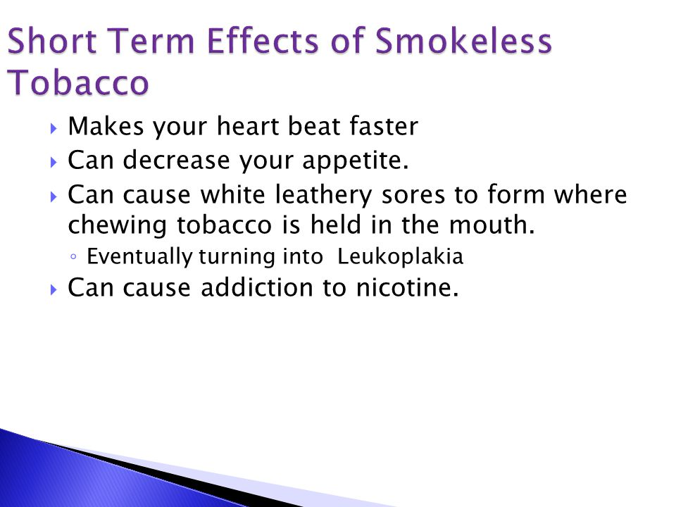 The Short/Long Term Effects of Smoking - ppt video online