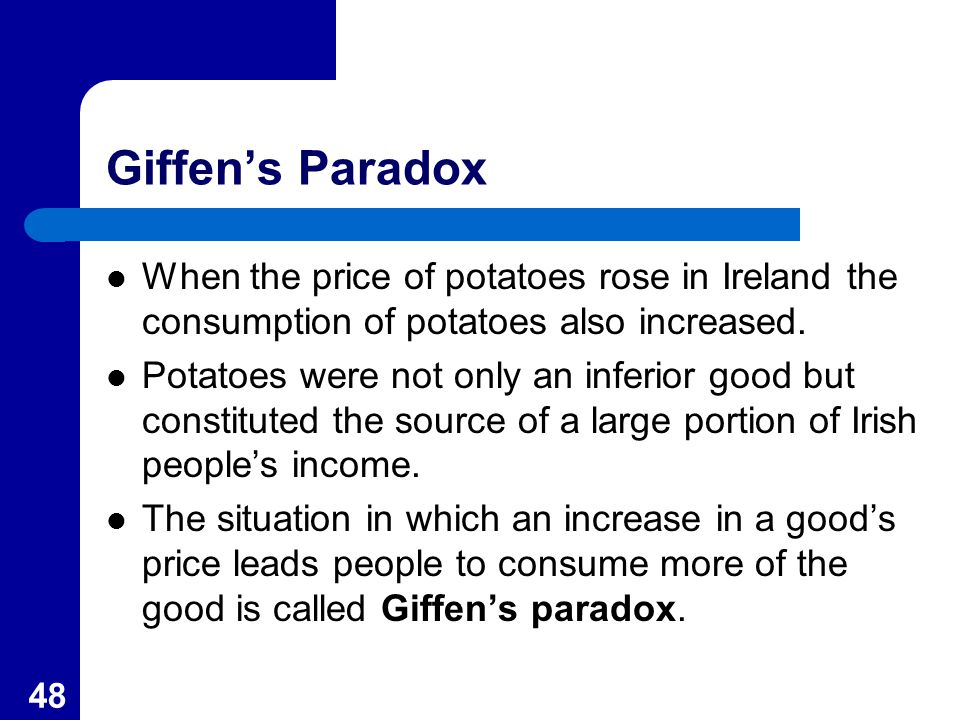 Giffen goods: definition, examples & demand curve video & lesson.