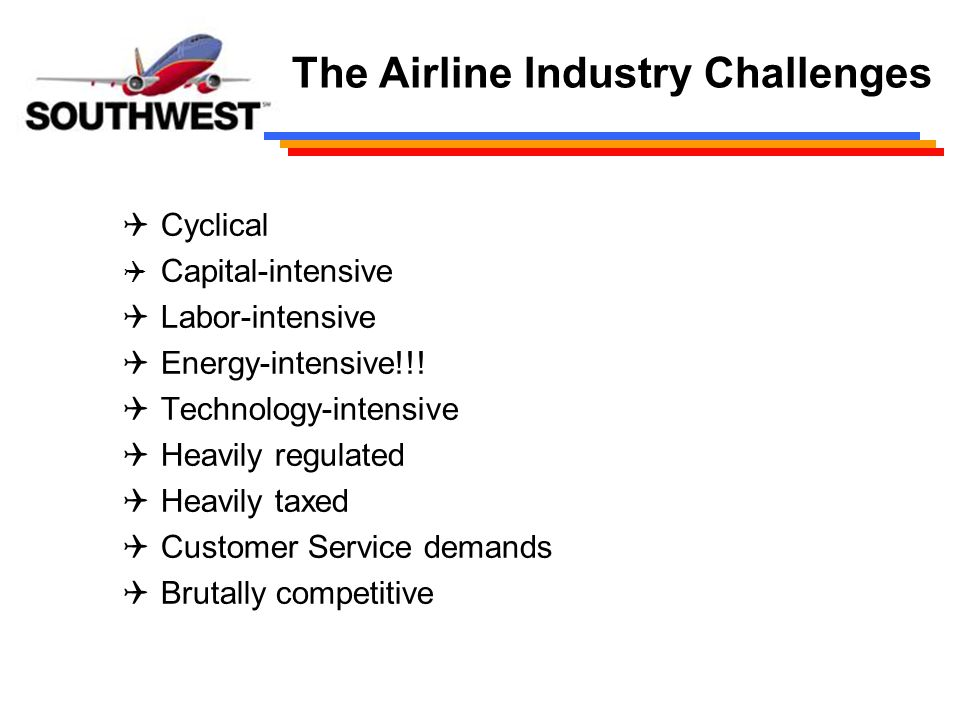 airline industry problems