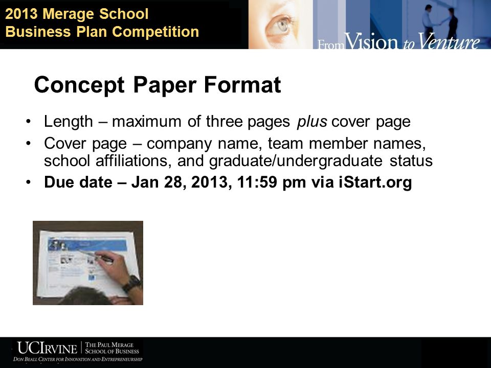 How to develop a winning concept paper and lead your team to success 9 concept paper format fbccfo Images
