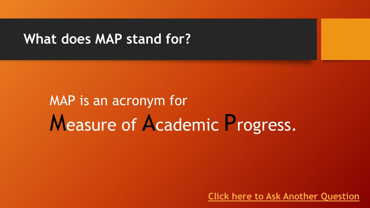 What Does Map Stand For MAP Testing for Parents   ppt download What Does Map Stand For