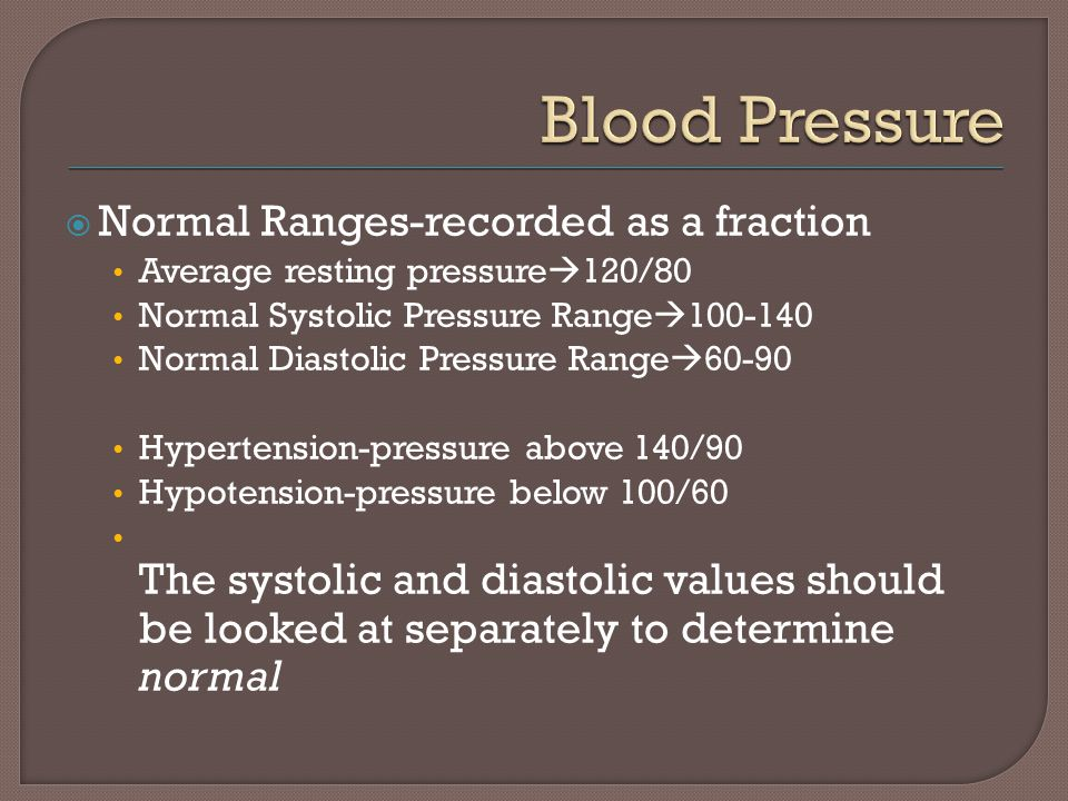 Pulse And Blood Pressure Ppt Video Online Download