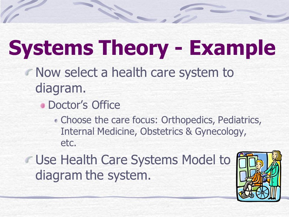 what is system theory in healthcare