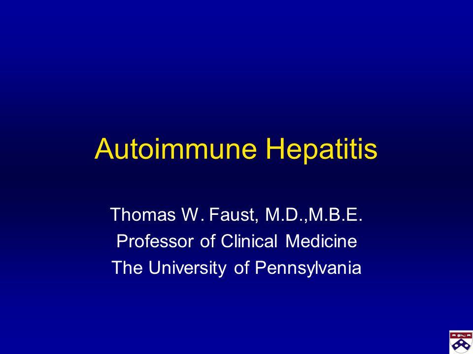 Autoimmune Hepatitis And Hepatitis C