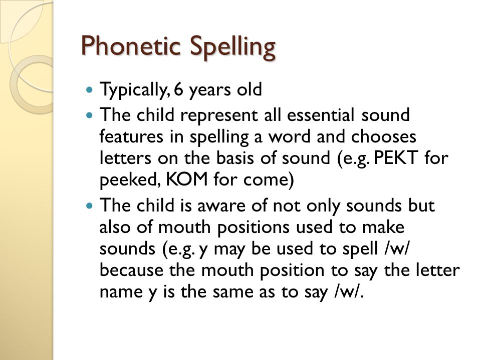 Assessing and Teaching Spelling - ppt download