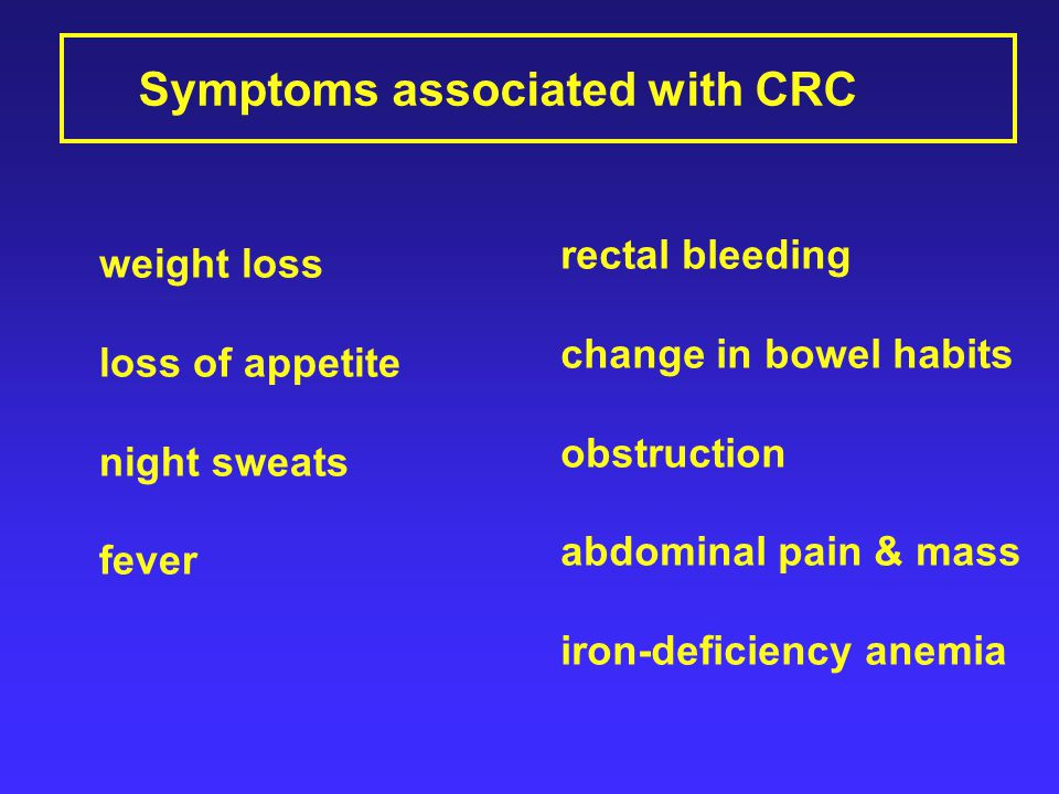 Colorectal Cancer Crc Ppt Video Online Download