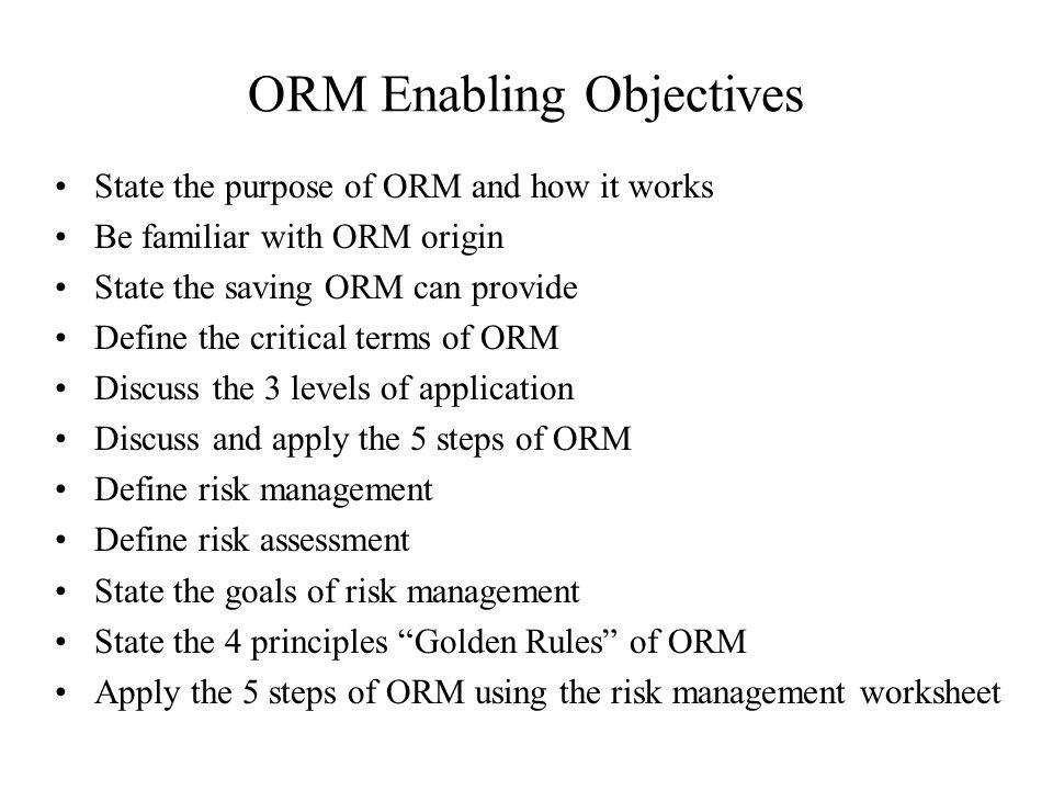 Operational Risk Management Ppt Video Online Download