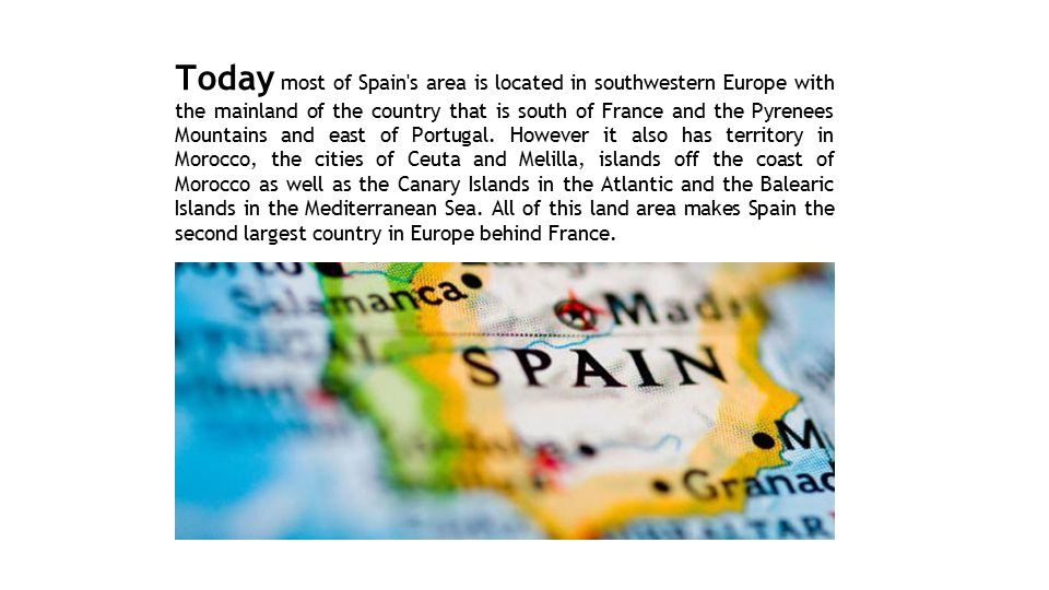 Detailed Map Of East Coast Of Spain.Geography Of Spain Ppt Video Online Download