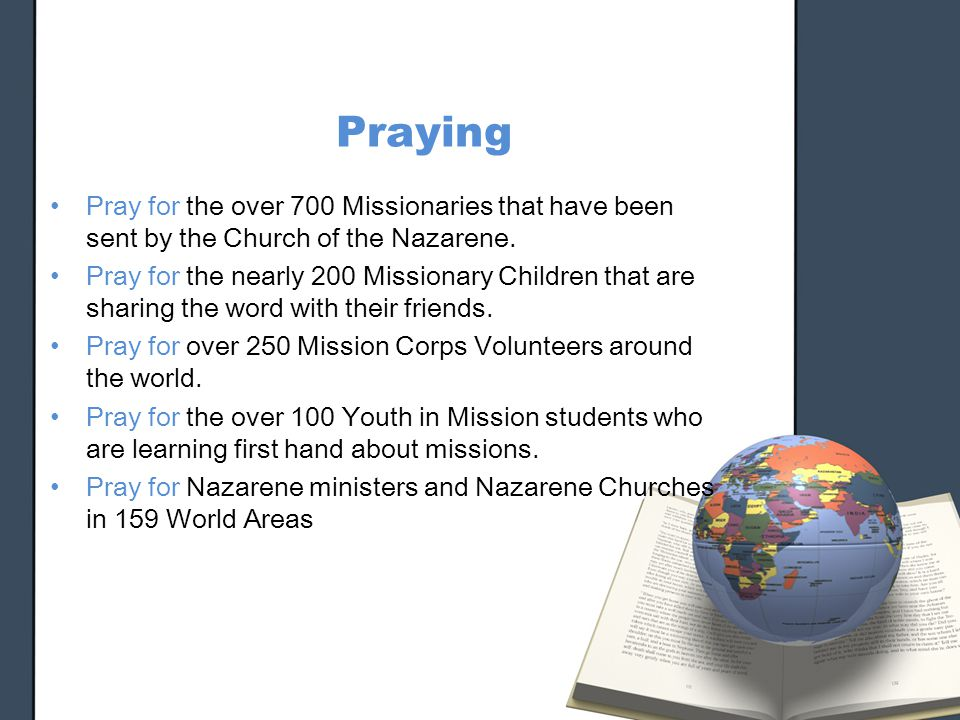 Making Missions a Priority in the local church - ppt video