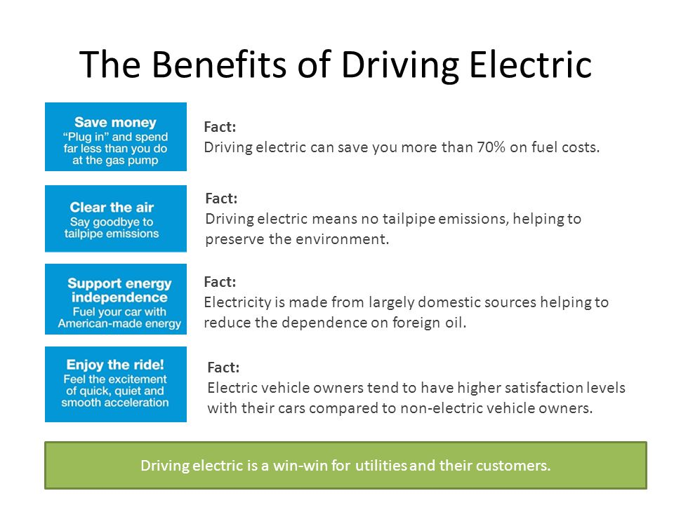 The Benefits Of Driving Electric