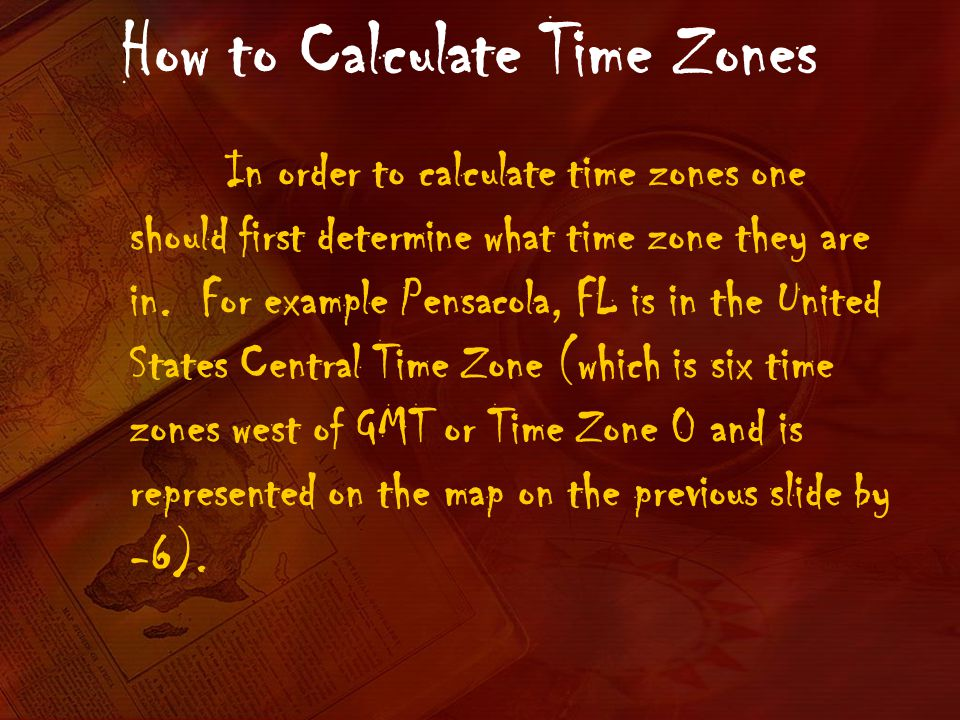 How to Calculate Time Zones