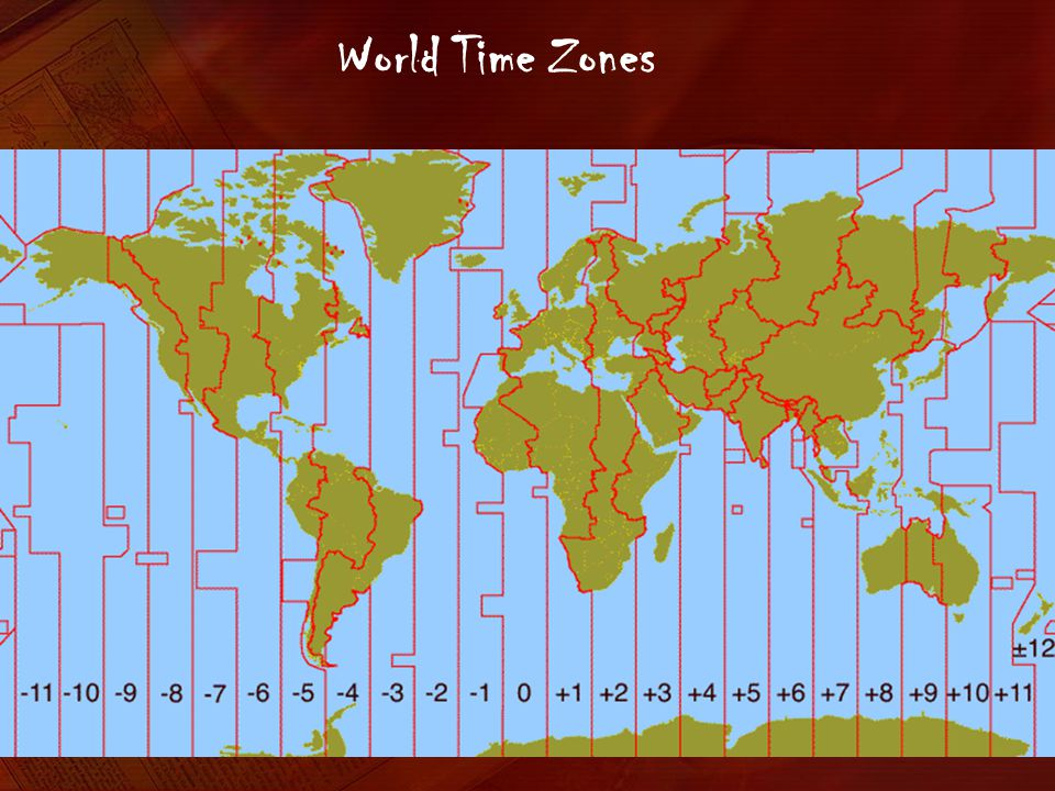 International Date Line On World Map.World Time Zones And The International Date Line Ppt Video Online