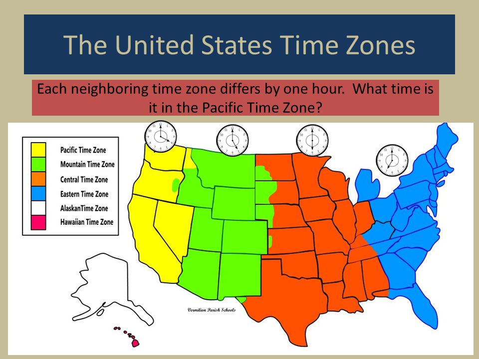 The United States Time Zones