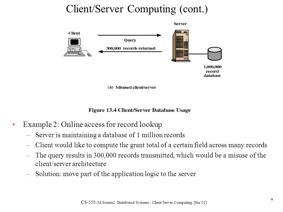 Distributed Systems: Client/Server Computing - ppt video online download