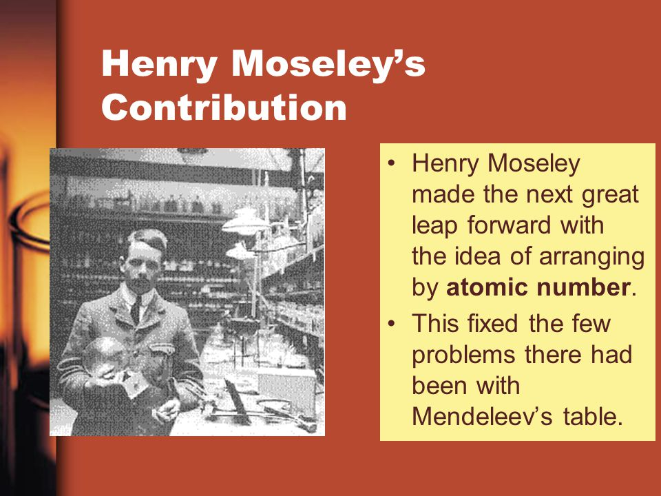 Henry Moseley Contribution To Periodic Table Choice Image Periodic