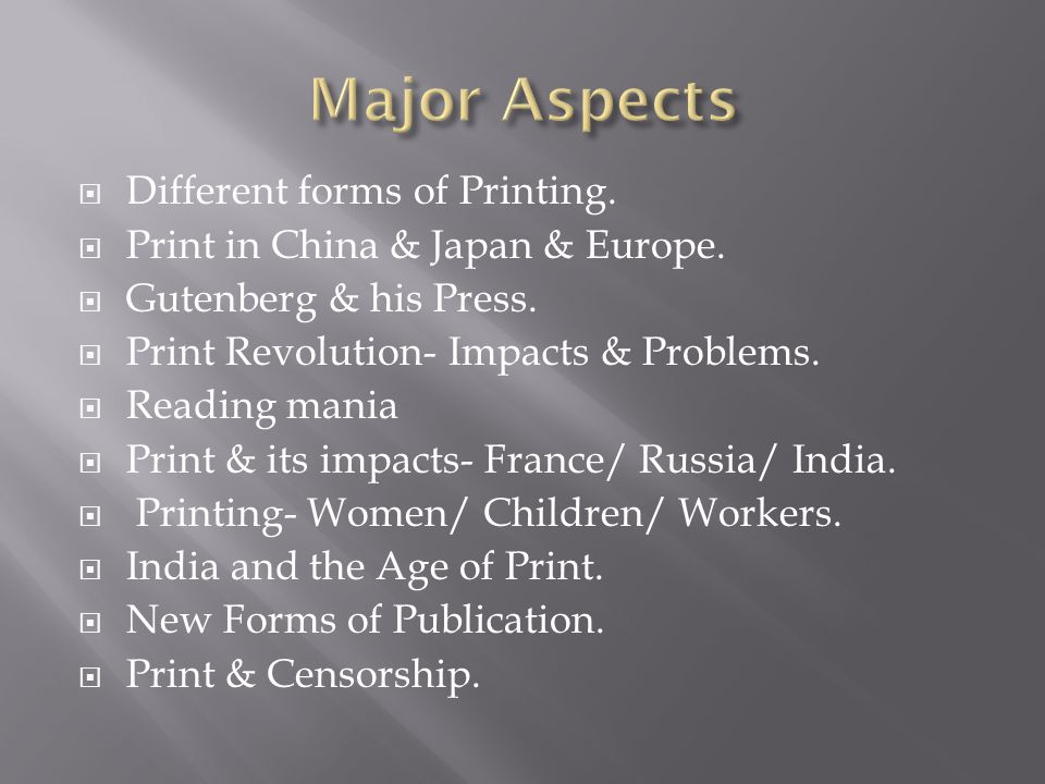 chapter 7 print culture the modern world ppt download