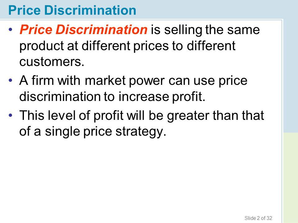 firms price discriminate