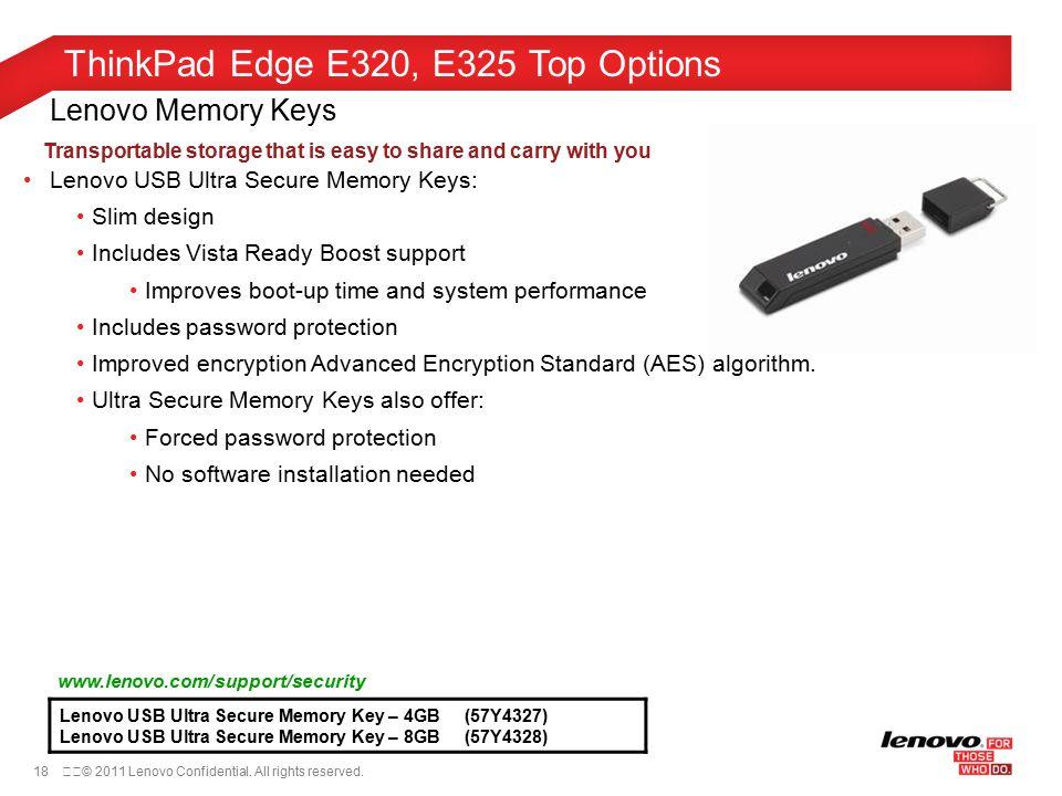 aee64b1d9f9 ThinkPad Edge E320, E325 Top Options September 7th, ppt video online ...