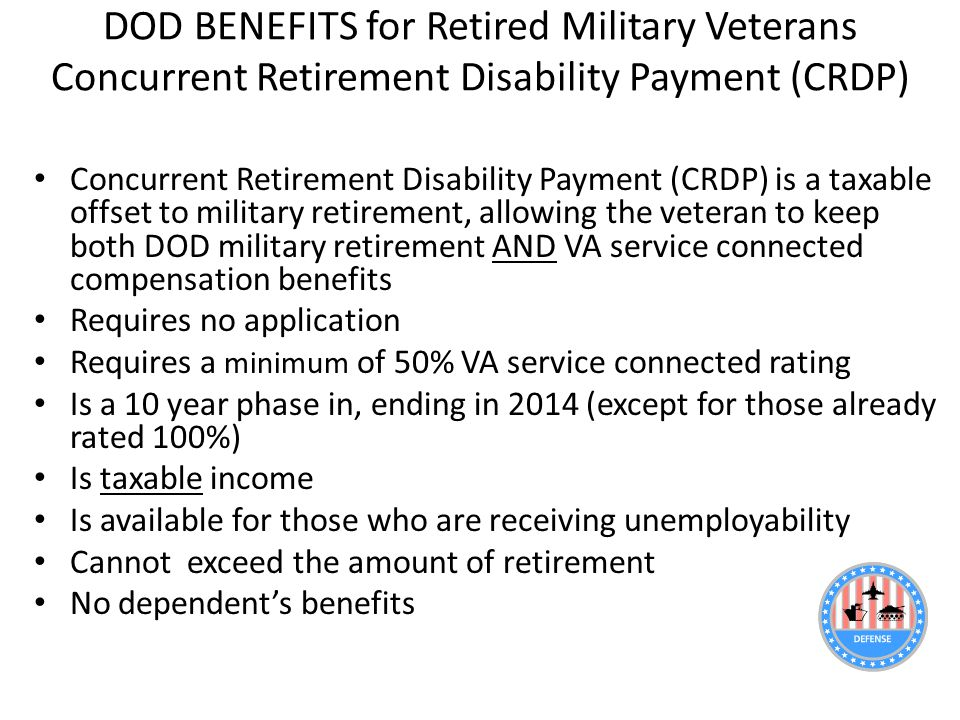 VA Disability Compensation and Healthcare: An Introduction - ppt