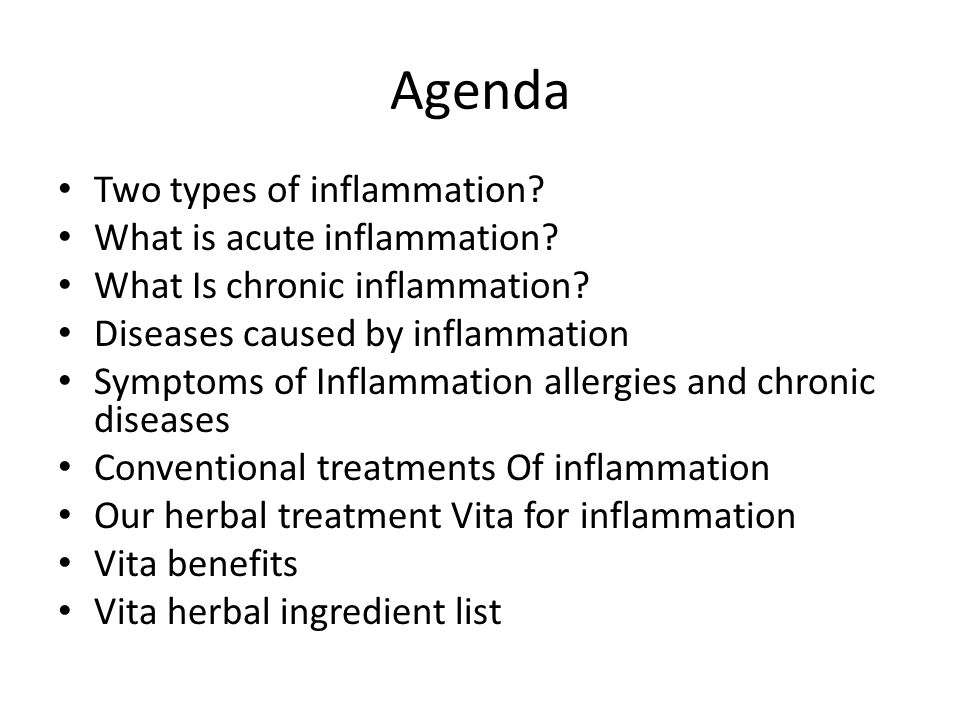 VITA - Remove Micro-inflammation - ppt video online download