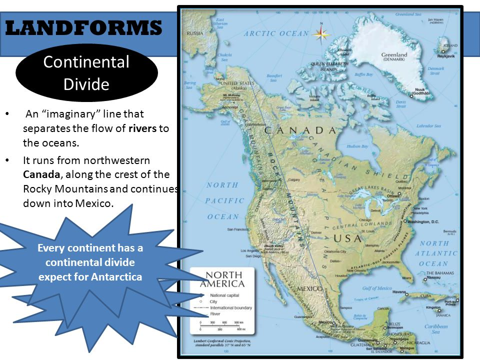 North America Geography and Physical Features - ppt video online ...