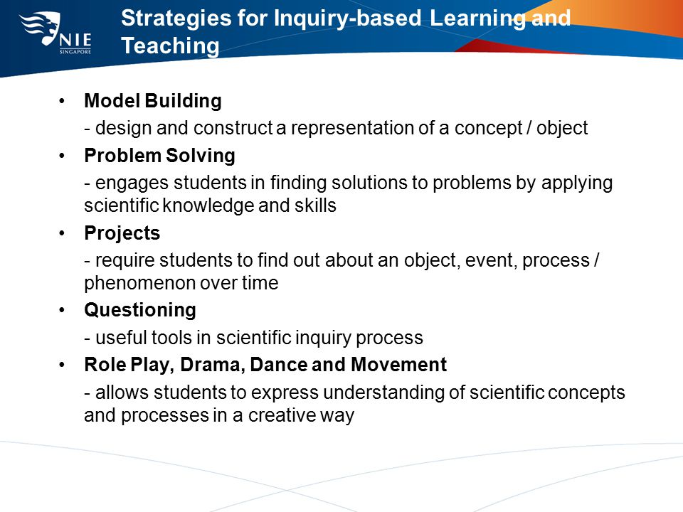 Inquiry In Biology For Secondary Schools Evelyn Teo Ppt Download
