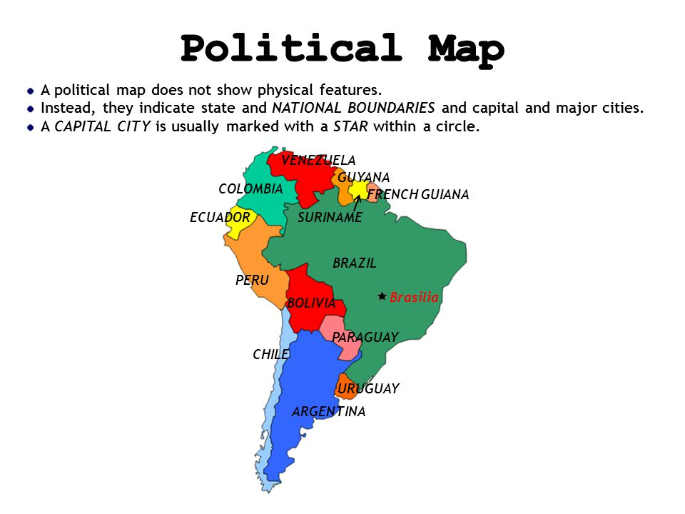 Finding your location throughout the world ppt video online download political map a political map does not show physical features gumiabroncs Gallery
