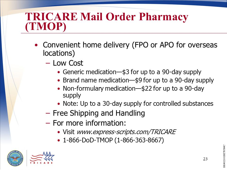 tricare your military health plan ppt download