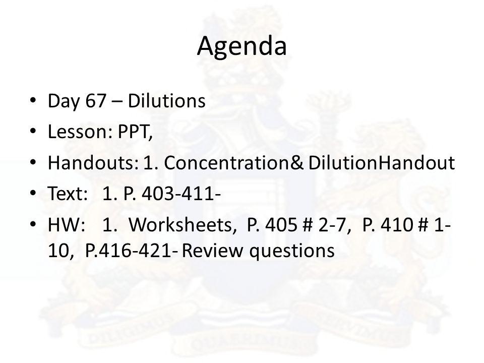 22 Agenda: Parts Per Million Worksheet At Alzheimers-prions.com