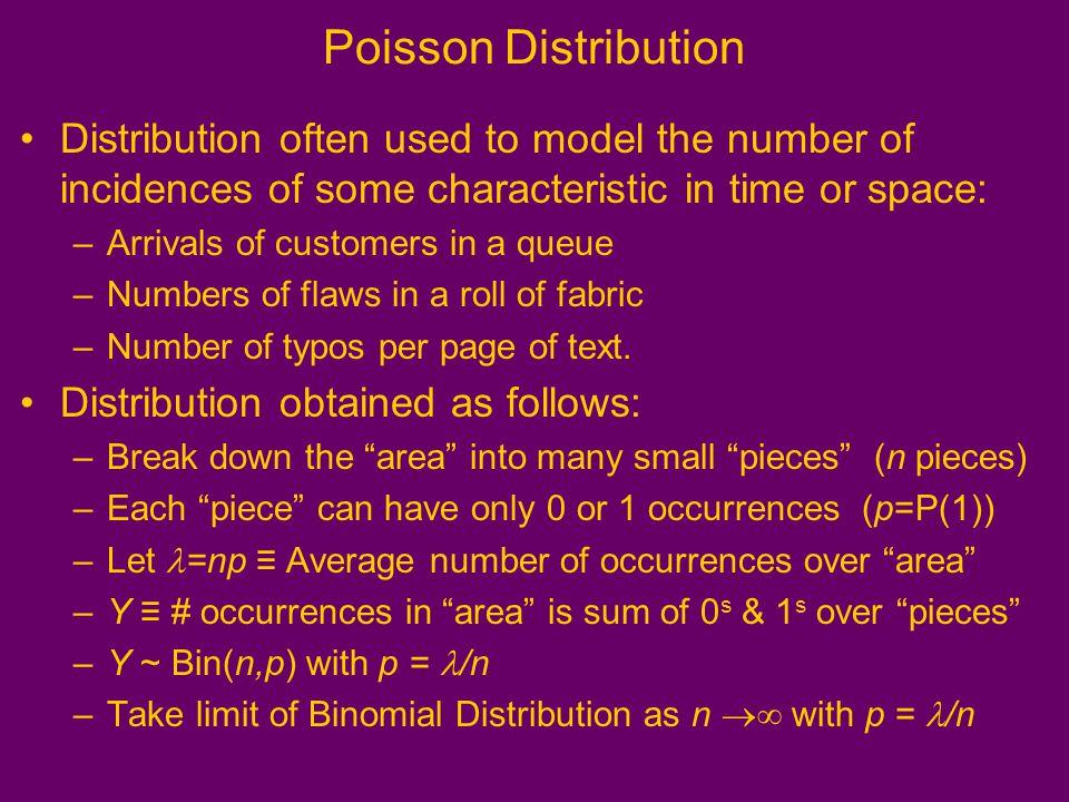 characteristics of poisson distribution pdf