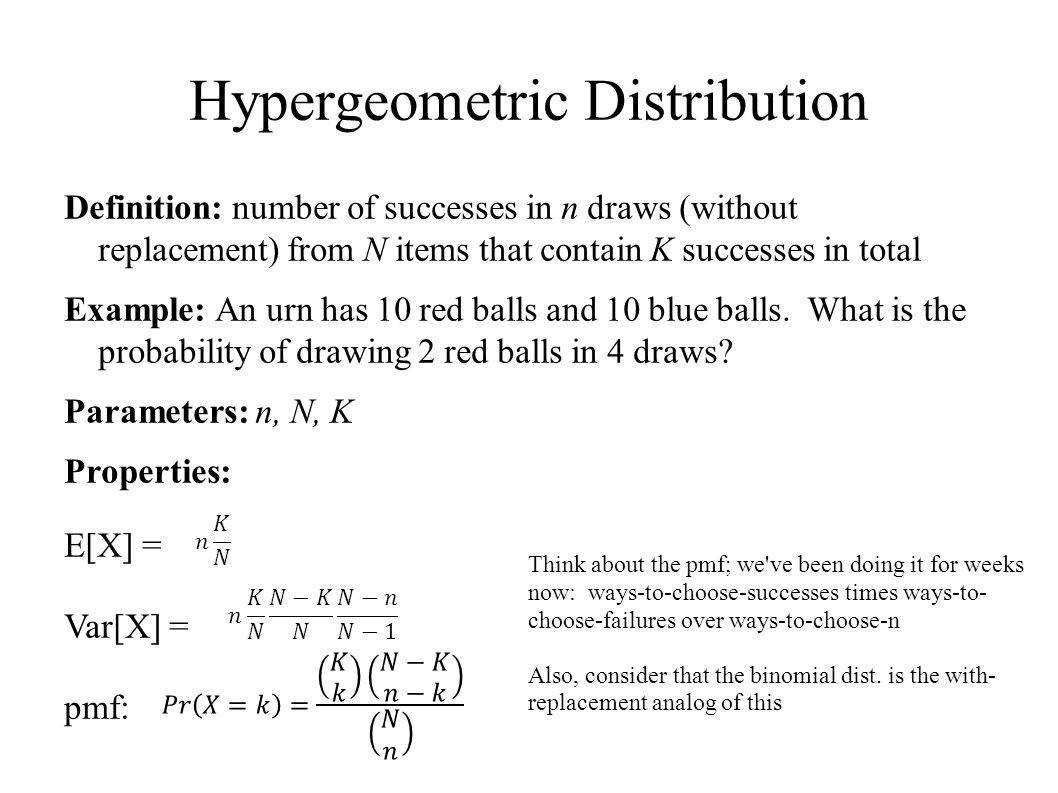 Review of important distributions Another randomized algorithm - ppt