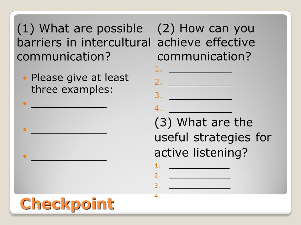 Unit 3: Intercultural Communication and Its Barriers - ppt video