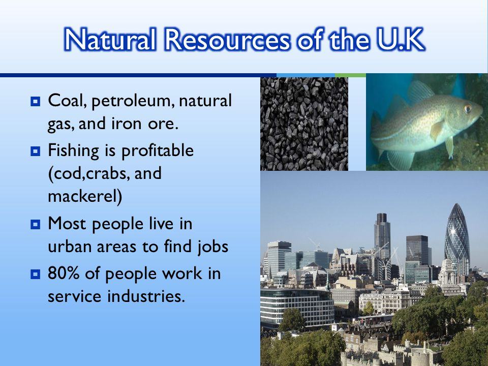Natural Resources of the U.K