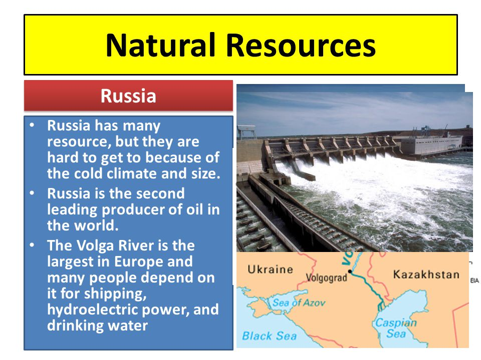 Natural Resources Russia