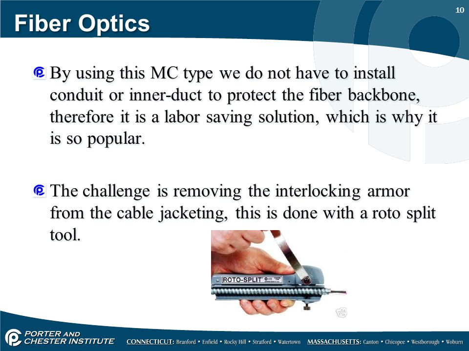 FIBER OPTIC CABLE CONSTRUCTION - ppt video online download