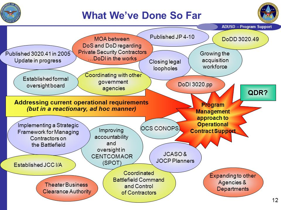 Dos agencies consolidating their contracts