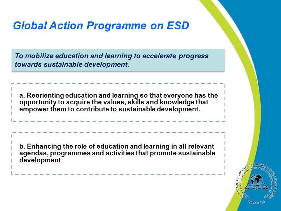Global Action Programme on ESD