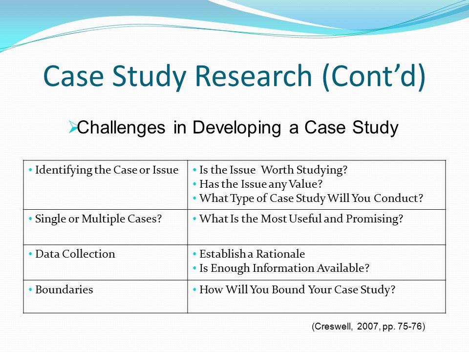 qualitative case study research